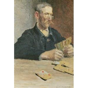 Zdzisław SUCHODOLSKI (1835-1908), Gra w karty - Pasjans