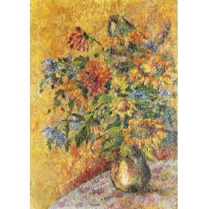 Władysław LAM (1893-1984), Kwiaty w wazonie, 1963