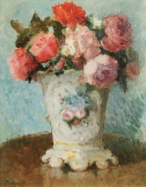 Artur MARKOWICZ (1872-1934), Wazon z kwiatami, ok. 1905