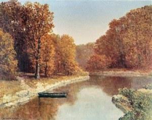 Konstanty MACKIEWICZ (1894-1985), Pejzaż jesienny