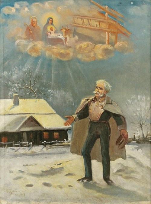 Michał ICHNOWSKI (1857-1915), Boże Narodzenie, 1914