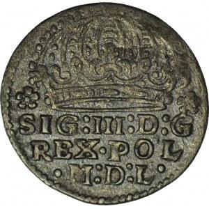 Zygmunt III Waza, Grosz 1613, Kraków, piękny