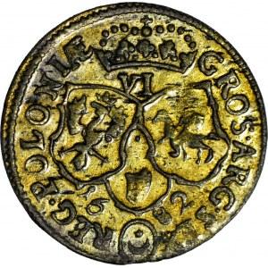 Jan III Sobieski, Szóstak 1682, Bydgoszcz, piękny