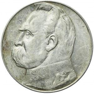 10 złotych 1937, Piłsudski