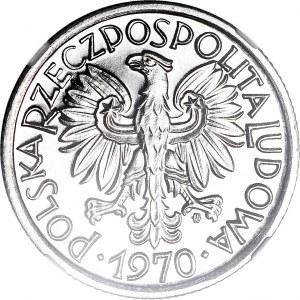 R-, 2 złote 1970, jagody, PROOFLIKE