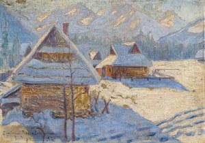Nowotnowa Janina (1881-1963), Zakopane (Równia Krupowa), 1924