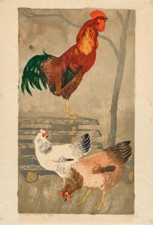 Bunsch Adam, Kogut i kury, 1932
