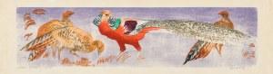 Bunsch Adam, Bażanty, 1950