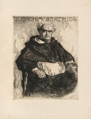 Mehoffer Józef (1869-1946), Portret O. Joachima Berthier Dominikanina we Fryburgu w Szwajcarii, 1918