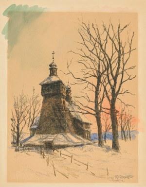 Rubczak Jan, Koœciół drewniany w Ruptawie, lata 30. XX w.
