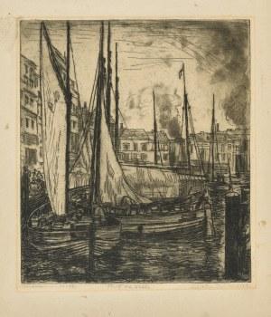 Wojnarski Jan (1879-1937), Port na Wiœle, lata 30. XX w.