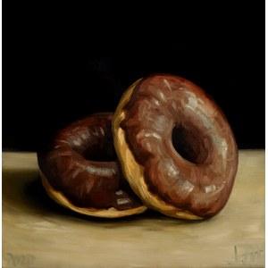 Szymon Kurpiewski, Chocolate donuts, 2020