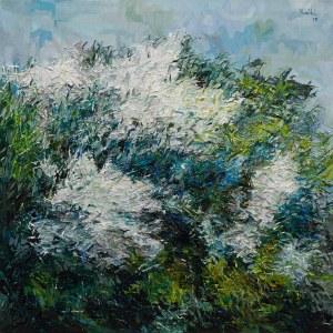 Olena Horhol, Flowering 7, 2019
