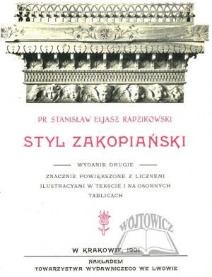 ELJASZ RADZIKOWSKI Stanisław, Styl zakopiański.
