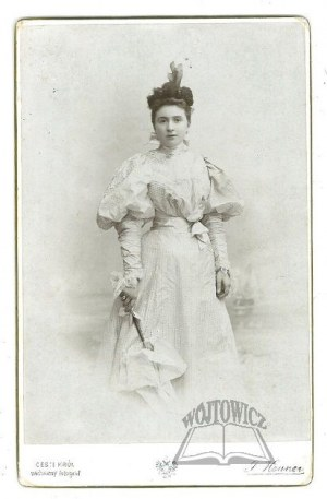 WODZICKA Taida Maria (1871-1937),