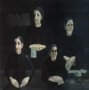 Kiejstut Bereźnicki (ur. 1935 Poznań), Stare kobiety I (Listy), 1977