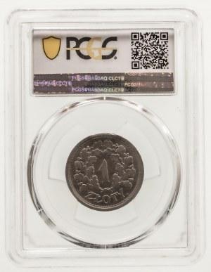 Polska, II Rzeczpospolita 1918-1939, 1 złoty 1928 próba w niklu