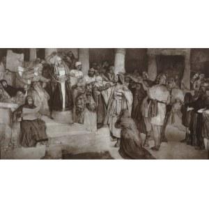 Maurycy Gottlieb (1856-1879), Chrystus przed Sądem, 1877