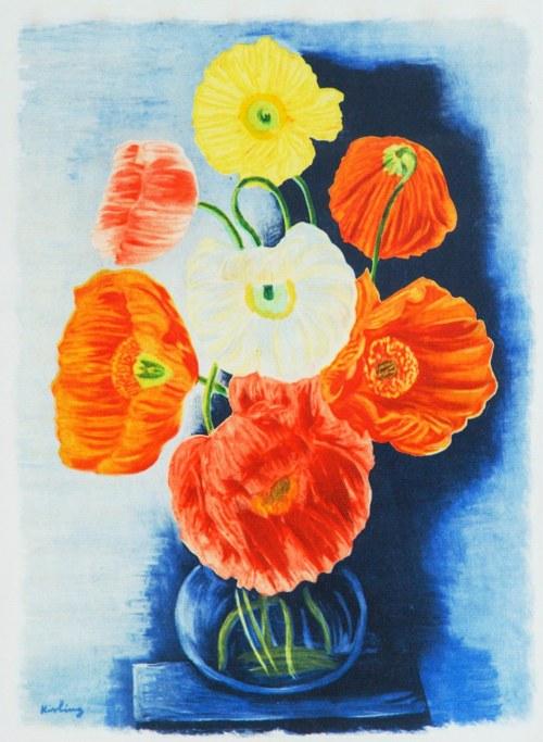 Mojżesz Kisling (1891 - 1953), Kwiaty w wazonie (tytuł umowny)
