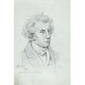 Tadeusz Rybkowski (1848-1926), Portret mężczyzny
