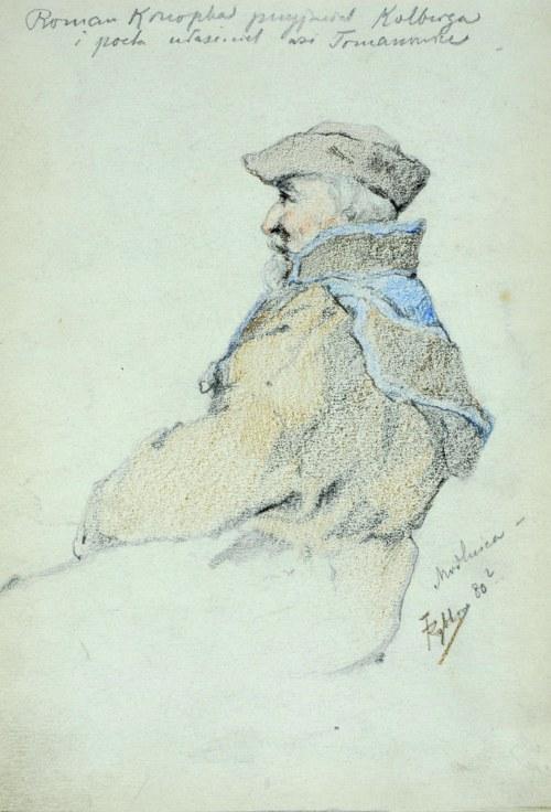 Tadeusz Rybkowski (1848-1926), Roman Konopka przyjaciel Kolberga