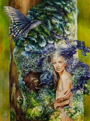 Andrzej Masianis, Majuna (Pruska bogini drzew lipowych), 2020