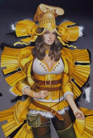Andrejus Kovelinas, Yellow Butterfly, 2020
