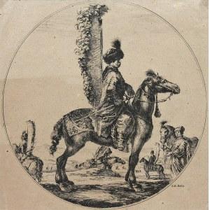 Stefano della Bella (1610 Florencja - 1664 tamże), Rotmistrz husarski Szczodrowski, l. 1648-1650