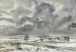 Malczewski Rafał, FOOTHILLS ZIMĄ, 1949