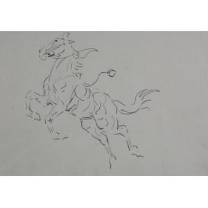 Karol Kossak (1896-1975), Wspięty koń