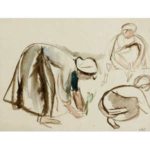Wojciech Weiss (1875 - 1950), Prace w ogrodzie