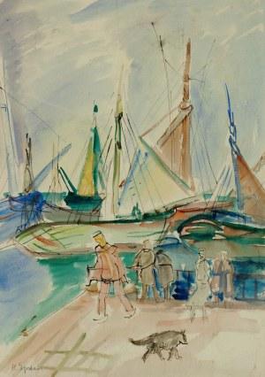 Henryk Epstein (1891-1944), W porcie