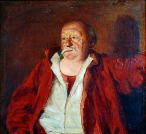 Józef Mehoffer (1869-1946), Portret Aleksandra Dejeana, 1895