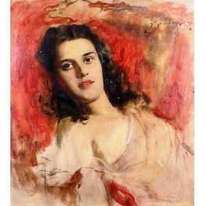 Bolesław Szańkowski (1873-1953), Portret dziewczyny