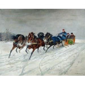 Czesław Wasilewski (1875-1947), Powrót do dworu, 1927?