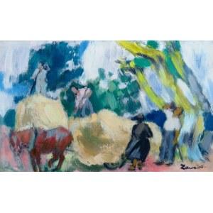 Jan Wacław (Zawado) Zawadowski (1891-1982), Praca w polu