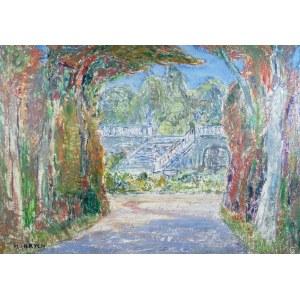 Henryk Krych (1905-1980), Schodami do ogrodu
