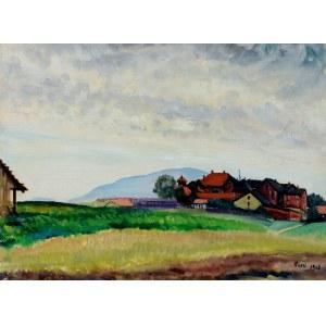 Aneri Irena Weissowa (1888-1981), Pejzaż z Kalwarii, 1928