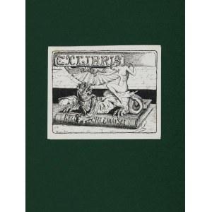 Jerzy Hulewicz (1856-1942), Ex Libris Kazimierza Chędowskiego, 1918