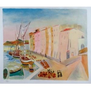 Mojżesz Kisling (1891 - 1953), Port w Saint Tropez