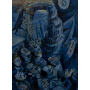 Juliusz Lewandowski /Juliusz Martwy/ (1977), The Tower and the diver (2016)