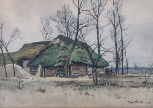 Tadeusz Nartowski (1892 Zręby k. Łomży - 1971 Szczecin) - Pejzaż