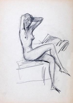 Jan Marcin Szancer (1902 Kraków-1973 Warszawa) - Siedząca