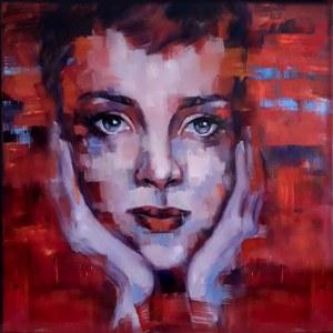 Marzena Hettich-Uryszek, Girl in Red, 2020