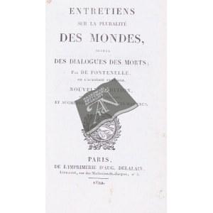 FONTENELLE [Bernard de Bouvier]