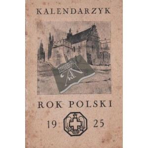 KALENDARZYK na Rok Polski 1925