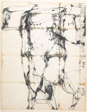 Tadeusz Brzozowski (1918 Lwów - 1987 Rzym), Illustrissimo Magistro Guillermo Sandberg, 1967 r.