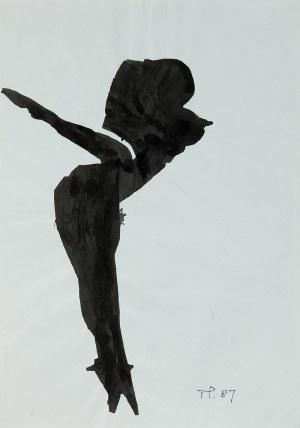 Teresa Pągowska (1926 Warszawa - 2007 tamże), Bez tytułu, 1987 r.