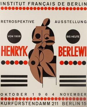 Henryk Berlewi (1894 Warszawa - 1967 Paryż), Henryk Berlewi, wystawa retrospektywna, 1964
