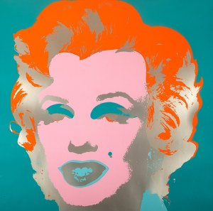 Andy Warhol (1928 Pittsburgh - 1987 Nowy Jork), Marylin Monroe